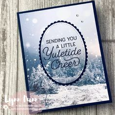 Create 3 simple cards featuring the Feels Like Frost Designer Series Paper. You will also learn a simple technique for stepping up your card designs. Homemade Christmas Cards, Stampin Up Christmas, Christmas Cards To Make, Xmas Cards, Handmade Christmas, Holiday Cards, Stampinup Christmas Cards, Chrismas Cards, Christmas 2019
