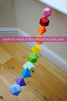 Bastelanleitungen mit Papier: Prismen und andere geometrische Formen Handicraft instructions with paper: prisms and other geometric shapes Diys 3d Templates, Printable Templates, Printable Shapes, Free Printables, Diy And Crafts, Crafts For Kids, Math Crafts, Craft Projects, Projects To Try