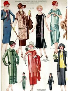 1925 Spring Easter Fashions-Delineator Magazine