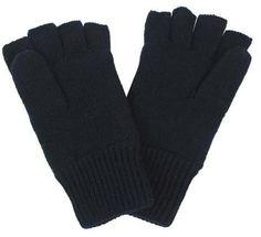 MFH Strick-Handschuhe, schwarz, ohne Finger II / mehr Infos auf: www.Guntia-Militaria-Shop.de