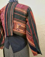 Diane Ericson Design - Hmong Fabric Jacket with suiting undershirt