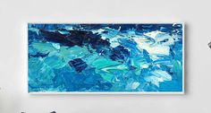 96 Extra Large Painting on Canvas Ocean Painting