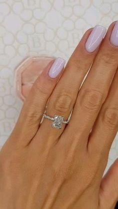 Cute Engagement Rings, Radiant Cut Engagement Rings, Wedding Engagement, Engagement Nails, Different Engagement Rings, Most Popular Engagement Rings, Most Beautiful Engagement Rings, Emerald Cut Engagement, Engagement Rings Cushion