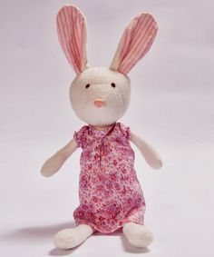 Rabbit organic doll