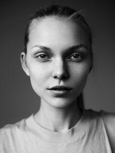 Maja Brodin @ Elite (Stockholm) by Anton Östlund Portrait