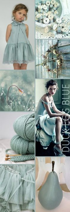 Spring style!! Duck Egg Blue!! Perfect for spring style! Lu's Inspiration ღ