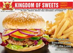 Enjoy your #Snacks at #kingdomofsweets in #Ludhiana visit : www.kingdomofsweets.in,