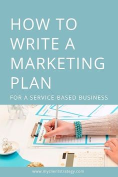 Learn how to use a #marketing plan for your service-based business. Digital Marketing Strategy, Marketing Jobs, Marketing Plan Template, Marketing Approach, Marketing Online, Marketing Budget, Small Business Marketing, Internet Marketing, Social Media Marketing