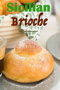 Sometimes called 'Italian brioche', Sicilian Brioche will surely become one of your favorites for breakfast or snack! Delicious and so easy to make at home! Artisan Bread Recipes, Italian Cookie Recipes, Sicilian Recipes, Sicilian Food, Italian Foods, Italian Desserts, Greek Recipes, Breakfast Recipes, Snack Recipes