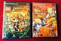 LEGO Indiana Jones and Dragon Ball Z Budokai 3 PlayStation 2