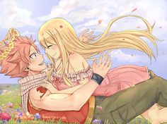 NaLu, NaLu, NaLu why are they so cute together ^^