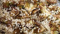 artischocken risotto und vorspeise #vegetarisch