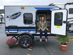 2018 Hershey RV Show: Our Top Picks from Jayco, Airstream, NuCamp and Little Guy – RV Family Travel Atlas – Famous Last Words Cargo Trailer Camper, Small Camper Trailers, Overland Trailer, Tiny Camper, Off Road Trailer, Small Trailer, Small Campers, Rv Trailers, Rv Campers