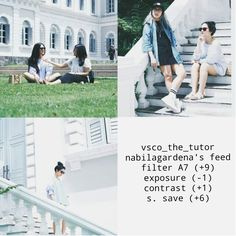 This filter for white feed . Don't forget to follow us and check the last tutor @vsco_the_tutor