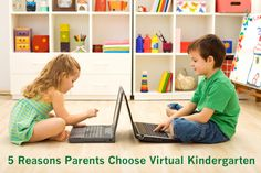 """5 Reasons Why Parents Choose Virtual School for Kindergarten"" on Virtual Learning Connections, a Connections Academy blog http://www.connectionsacademy.com/blog/posts/2014-04-14/5-Reasons-Why-Parents-Choose-Virtual-School-Kindergarten.aspx"