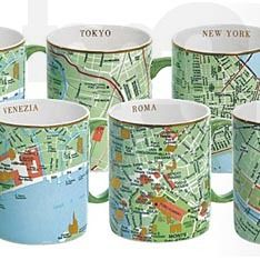 Seletti mugs. These are great. We have NY in both green and black!!