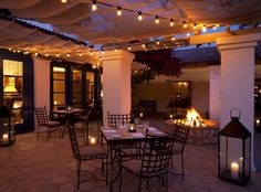 La Quinta Resort- Morgan's in the desert, patio