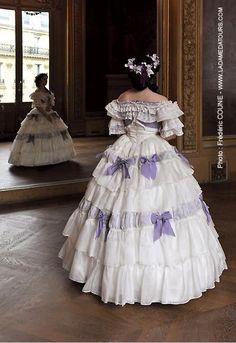 Robe de l'Impératrice Eugénie