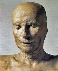 This is the death mask of sculptor Filippo Brunelleschi. He died in 1446 so this is one of the oldest death masks we have seen Church Pictures, Ghost Pictures, Radios, Filippo Brunelleschi, Post Mortem Photography, Danse Macabre, Effigy, We Are The World, Ghost Stories