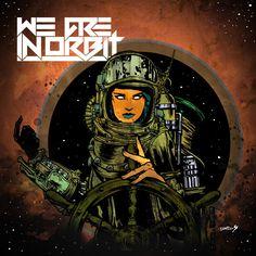 We Are In Orbit (electronic music artist) - Artwork by David Paul Seymour