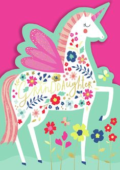 Leading Illustration & Publishing Agency based in London, New York & Marbella. Unicorn Illustration, Pattern Illustration, Character Illustration, Drawing For Kids, Art For Kids, Happy Birthday Text, Drawing Expressions, Unicorn Art, Kids Prints