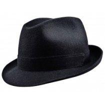 13fada35b12 Classic short brim Trilby hat sewed with woolen cloth