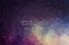 Wall Mural colorful geometric with triangles - pattern • PIXERSIZE.com