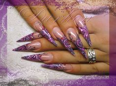 abstraсt lines - Nail Art Gallery