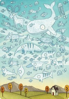 Day time - Brendan Kearney Illustration