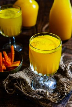 Gajar Ki Kanji recipe makes use of carrots in a very interesting way, as a delicious, spicy tangy fermented drink. It is a popular drink for Holi.