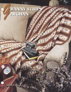Granny Strips Afghan Annie's Crochet Quilt and Afghan