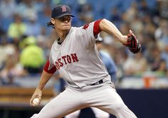 Clay Buchholz struck out six and didn't walk a batter during his complete-game shutout.
