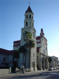 The Cathedral Basilica of St. Augustine, Americas First Parish. Founded  September, 8 1565  TOTAL Awesomeness.  and TRUTH Be Known St Augustine Florida and the Fortaleza del Castillo De San Marcos is the FIRST Settlement and CITY in North America.
