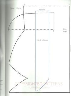 Eu costuro , você costura: PAP de Clutch com laço Tilda