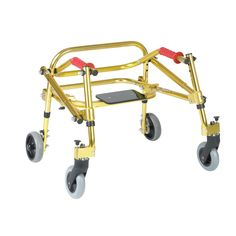 Drive Medical Nimbo Rehab Lightweight Posterior Posture Walker with Seat (