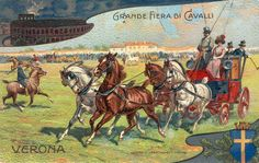 Verona - Fiera Cavalli 1908