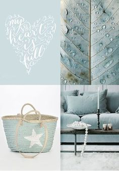moodboard - pale blue
