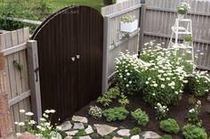 lovely gate - via Reader Redesign: Secret Garden on younghouselove.com