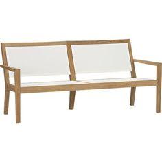 Regatta Mesh Sofa in Regatta | Crate and Barrel  $999