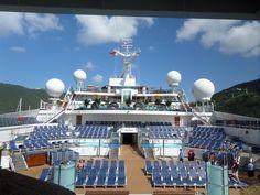 Sunshine docked at St. Thomas