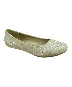 Another great find on #zulily! Platinum Orly Ballet Flat by Pierre Dumas #zulilyfinds