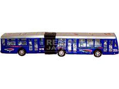 Lendkerekes csuklós busz - 40 cm, többféle