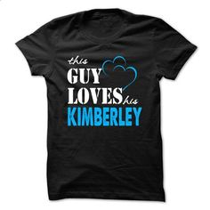 This Guy Love Her KIMBERLEY ... 999 Cool Name Shirt ! - #tshirt painting #sweater diy. SIMILAR ITEMS => https://www.sunfrog.com/LifeStyle/This-Guy-Love-Her-KIMBERLEY-999-Cool-Name-Shirt-.html?68278