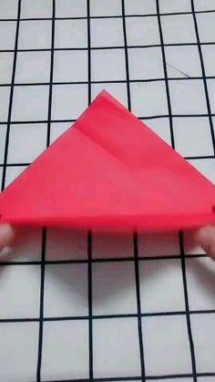 Cool Paper Crafts, Paper Crafts Origami, Diy Crafts Hacks, Diy Crafts For Gifts, Diy Arts And Crafts, Diy Paper, Decor Crafts, Art Decor, Instruções Origami