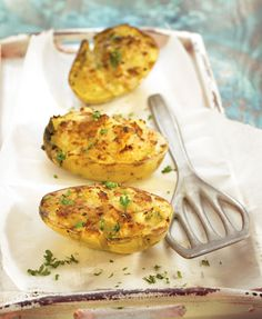 twice baked jacket tuna potatoes #brunch #recipe #food