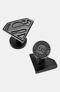 Ravi Ratan Cufflinks, Inc. 'Superman Shield' Cuff Links available at #Nordstrom