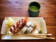 Matcha and sushi. Another perfect pairing!
