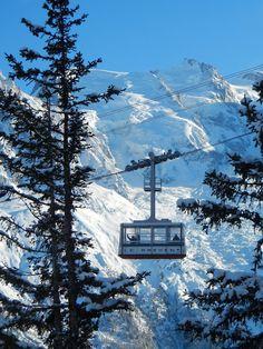 Le Brevent telecabine, Chamonix French Images, Chamonix Mont Blanc, Ski Ski, Ski Holidays, Ski Lift, Amazing Race, Futuristic Design, Retro Futurism, Austria