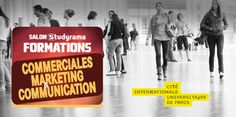 Salon Studyrama : Formations commerciales, marketing & communication
