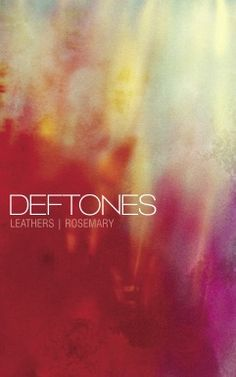 DEFTONES limited cassette tape. Don't know where anyone would find one of these now, but if I ever get my hands on one, I'm not letting it go.